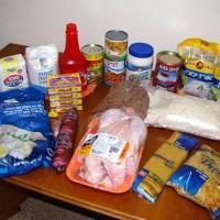 تعبئة وتوزيع المواد الغذائية (الارز_السكر_ملح الطعام_البقوليات)