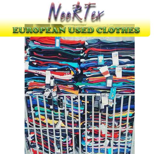 بيع ملابس البالة والاستوكات الاوروبية Cover Image