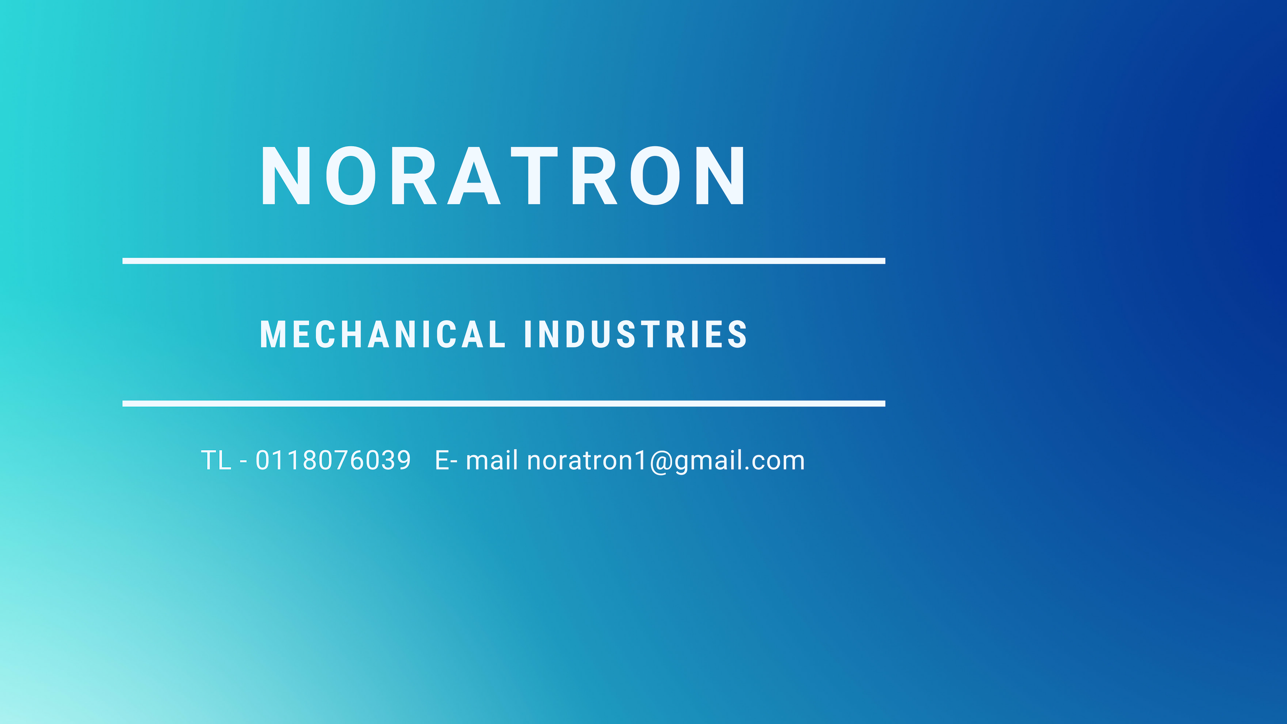 noratron Cover Image