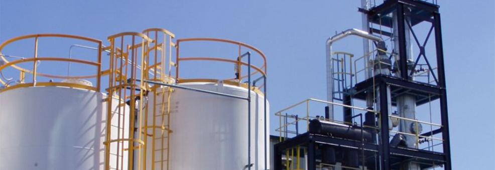 مصنع اعادة تدوير الزيوت المستعملة Cover Image