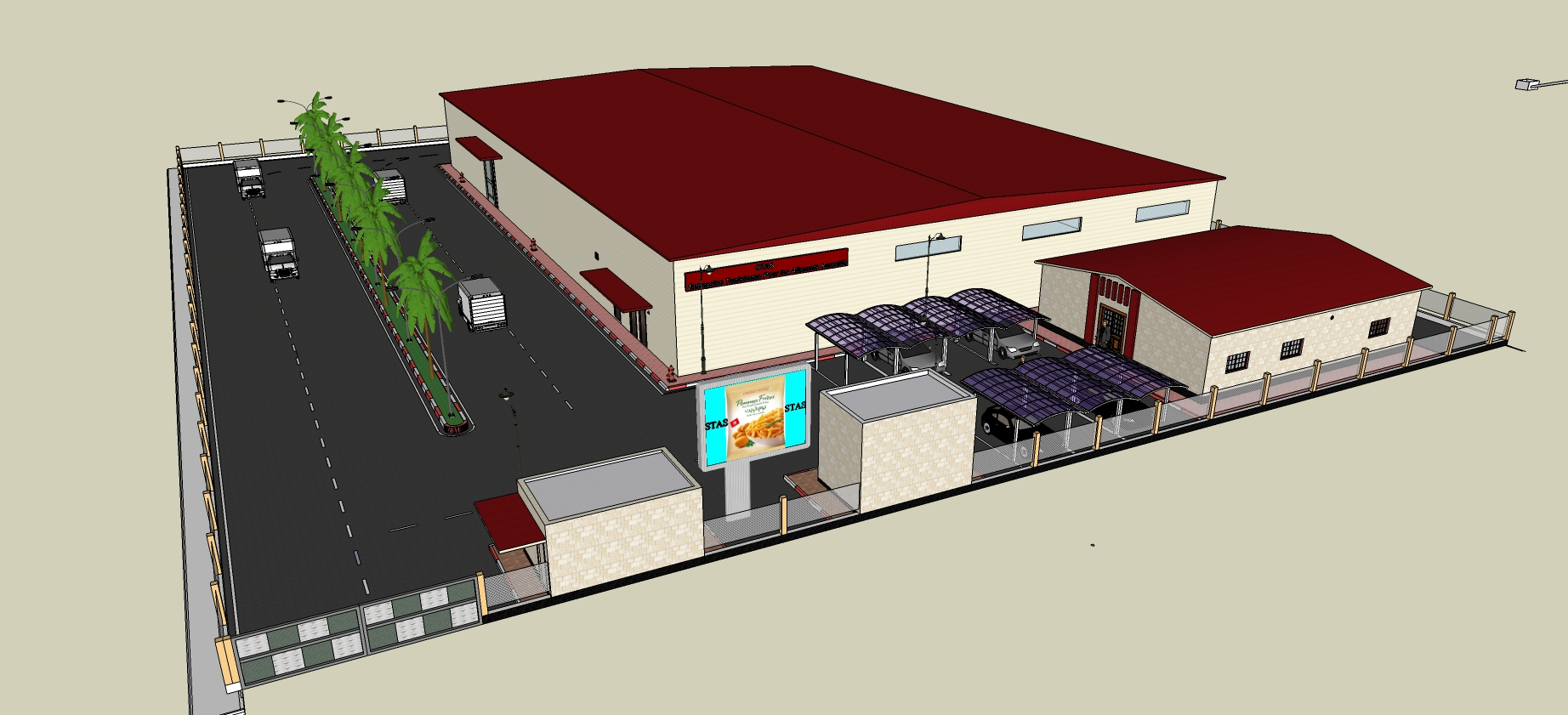tunisia frezon foods Project Picture