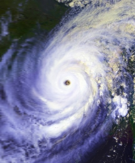 براءة اختراع للسيطرة على مسار الاعصار Cover Image